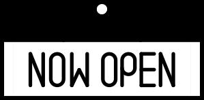 Now Open!